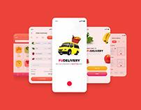 FUDelivery - Food Delivery APP UI/X Design