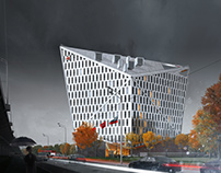 3D visualisation of State Institution in Moscow.