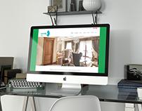 Box Layout Web Design for Dorstil Companies