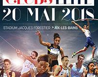 Affiche Fédération française d'athlétisme