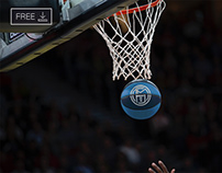 Free Basketball Mockup 2021