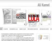 Site do Diretor Geral de Jornalismo da Rede Globo