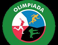"""Logo """"Olimpiada przeciw smogowi"""""""