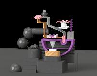 Bodegón en 3D