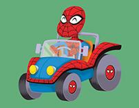 comic book vehicles
