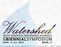 Watershed | 3rd Biennial RMPA Symposium Branding