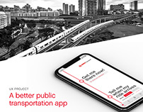 Mobile App revamp - SMRTConnect mobile app