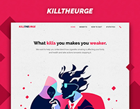 Kill The Urge - Web design / Web Dev