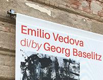 Emilio Vedova by Georg Baselitz • FEAV Venezia (2019)