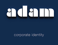 adam - corporate identity