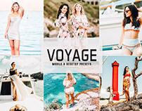Free Voyage Mobile & Desktop Lightroom Presets