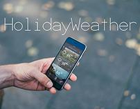 HolidayWeather | Redesign App