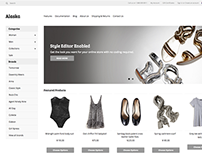 Alaska Responsive E-commerce Theme