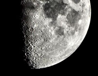 Tonigh'ts Moon 16th March 2016 at 19-44-32 hours