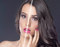 High end retouch - retoque de alto rango.