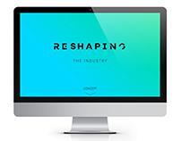 Reshaping   logo design