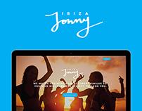 Jonny Ibiza UX/UI design