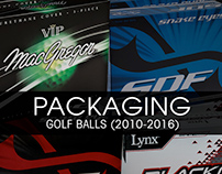 Golf Ball Packaging Design & Production (2010-2016)