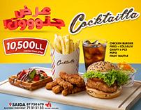 Burger Ad - Billboard
