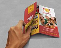 Pizza Place Z fold Brochure