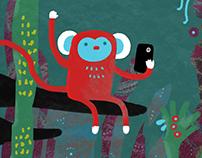 Monkeys calendar