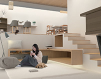 PET FOSTER HOME Architecture design & Interior design