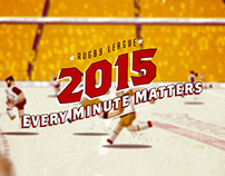Rugby League 2015: Every Minute Matters