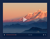 Day 373: Video Player UI Design