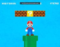 Infografía Interactiva Mario Bross