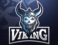 Viking Mascot Logo Design
