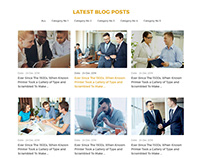 Business Consulting & Coaching Business Website Design