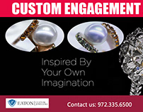 Custom Engagement Jewelry   972 335 6500   eatoncustomj