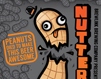 BrewLink Brewing - Nuttercup Porter Can Design