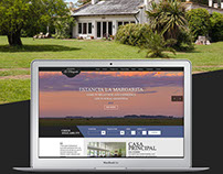 Estancia La Margarita - Website and Booking system