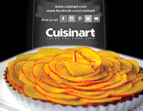 Graphic Design: Cuisinart Magazine Advertisement
