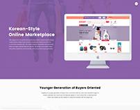 Korean eCommerce Web Application