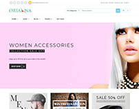 Orianna - Fashion E-commerce Bootstrap 4 Template