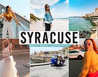 Free Syracuse Mobile & Desktop Lightroom Presets