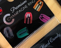 Premium Champagne Ring packaging