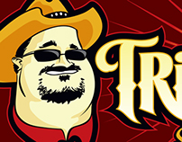 Food Truck Logo - Tri-Tip Man Smokin' Sandwiches