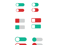Switch Buttons For Mobile & Web Applications