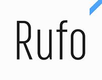 Rufo typeface