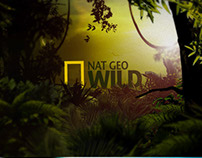NatGeo Wild. Channel Branding