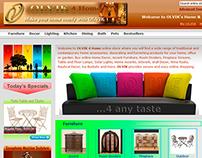 Website Design - OLVIK 4 Home