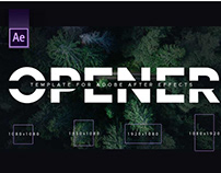 Typography Opener | After Effects