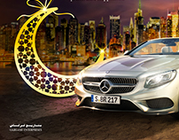 Eid Campaign Design for Mercedes - Gargash Enterprises