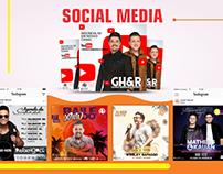 Kit Social Media para Eventos Musicais