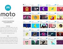 Motorola A to Z project