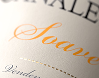 3D Canaletto Wine Box & Label Imagery - Packaging