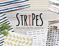 Stripes seamless pattern on Creative Market